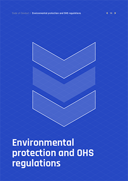 08 Environmental	protection<br>and	OHS	regulations
